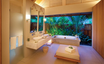 Picture of Madam Zabre villa bathroom, Desroches Island Resort