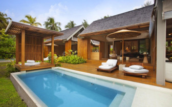Picture of the Madam Zabre Villa, Desroches Island Resort