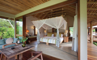 Picture of a Suite Bedroom, Desroches Island Resort