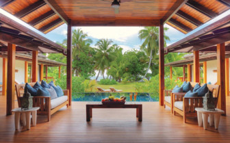 Picture of a beach villa in Desroches Island Resort