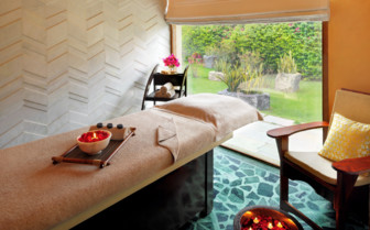 Main Spa at Devi Garh, luxury hotel in India