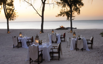 Picture of Beach dining at Vamizi Island lodge
