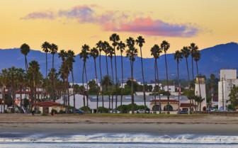 A Beachside Town in California