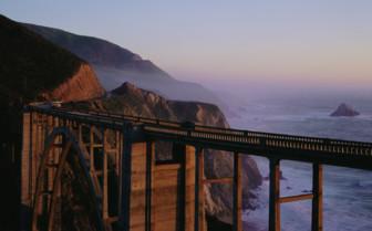 A Bridge Along the Big Sur Coastline