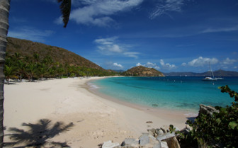 Picture of Peter Beach British Virgin Islands