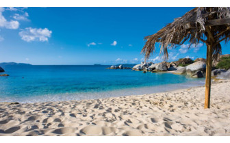 Picture of Exotic beach at British Virgin Islands