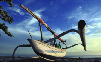 Picture of Boat detail Indonesia