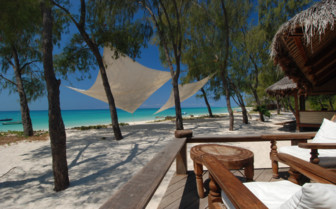 Picture of the beach view at Vamizi Island Lodge