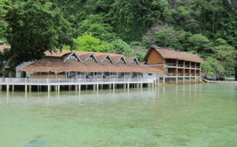 Picture of the Water Cottages at El Nido Miniloc Island Resort