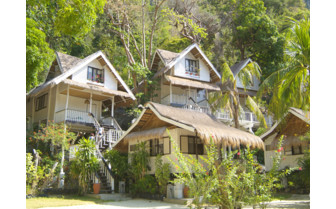 Picture of the Cliff Cottages at El Nido Miniloc Island Resort