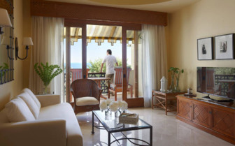 Picture of a Villa Lounge at the Four Seasons Sharm El Sheikh