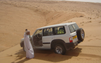 Picture of Dune Driving on the Private Dive Safari