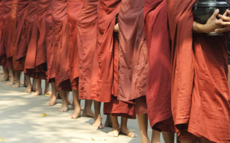 Mandalay monks