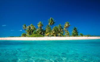 Picture of amazing beach at Bora Bora