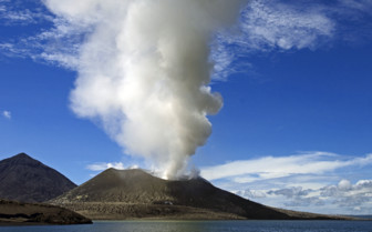 Picture of Tavurvur Volcano in New Britain