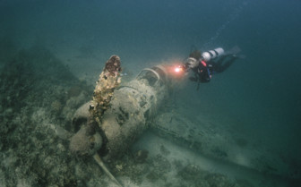 Picture of wreck diving in New Ireland