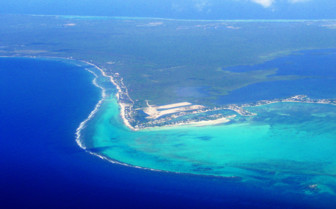 Picture of Grand Cayman Islands aerial photograph