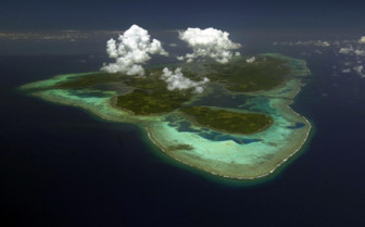 Picture of aerial of Yap from north