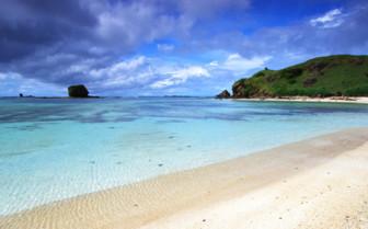 Picture of Kuta beach in Lombok