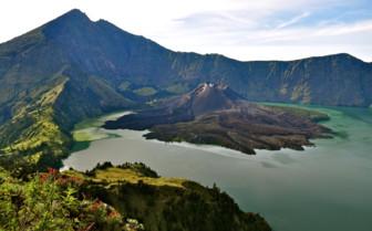 View of Rinjani Bali