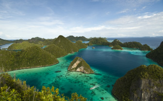 Picture of Aerial view of Raja Ampat