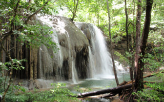 Picture of Moyo island waterfall