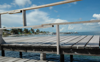 Picture of Pier Ambergris Caye