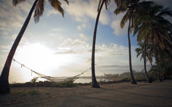 Picture of beach hammocks small hope bay lodge Andros