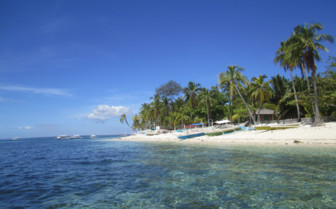Picture of Malapascua Island in the Philippines