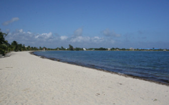Picture of the Belizean coast