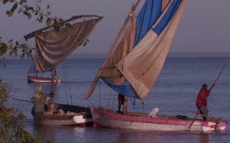 Picture of Fishermen south coast Mozambique