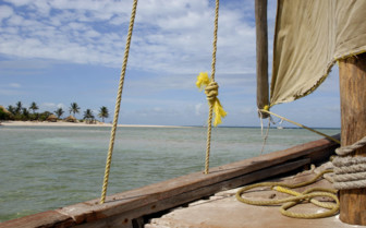 Picture of Dhow in Africa