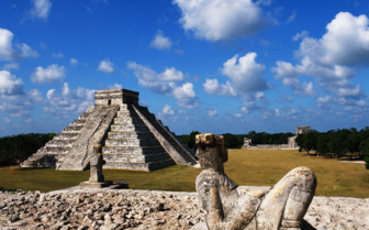 Picture of Mayan ruins Yucatan Peninsula