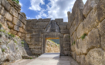 Mycenae Ruins in the Peloponnese