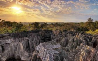 Tsingy at sunset