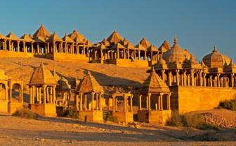 Bada Bagh Gardens in Jaisalmer