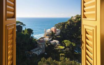 Window view from Portofino
