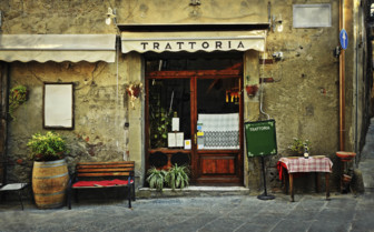 A traditional Trattoria