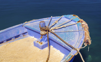 A Traditional Boat on the Aegean