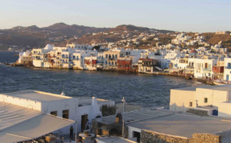 The Harbour in Mykonos
