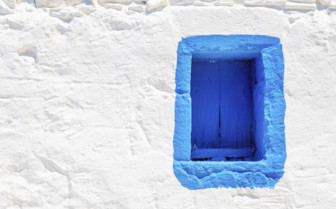 A Blue Window