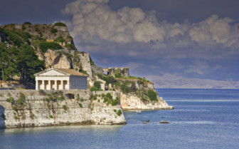 A Hellenic Building on the Corfu Coast