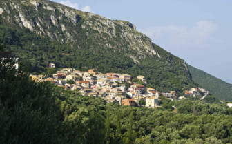 A Town Nestled into the Hillside