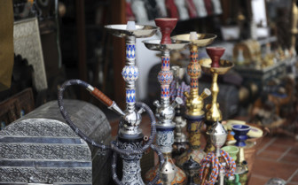 Pipes in the Souk