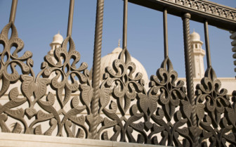 Iron Detail at the Salalah Grand Mosque