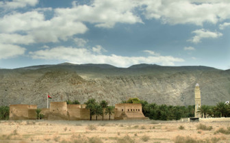 Khasab Fort on the Musandam Peninsula