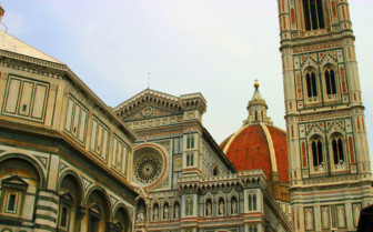 A glimpse at the Duomo