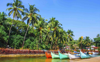 Boats in Goa