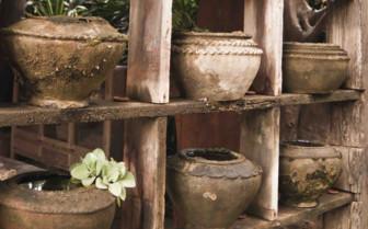 Omani Pottery on a Shelf