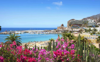 The Beach in Gran Canaria